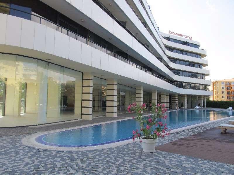 Двухкомнатные апартаментыв комплексе «Бумеранг»