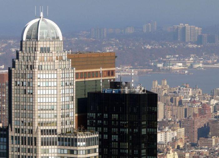 Фото небоскрёба City Spire, Нью-Йорк, США