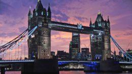 Цены в Лондоне летом