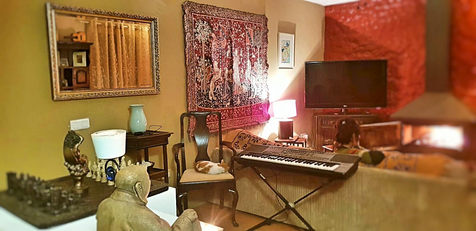 Продается старинный дом в Испании, деревня Аренас, Малага