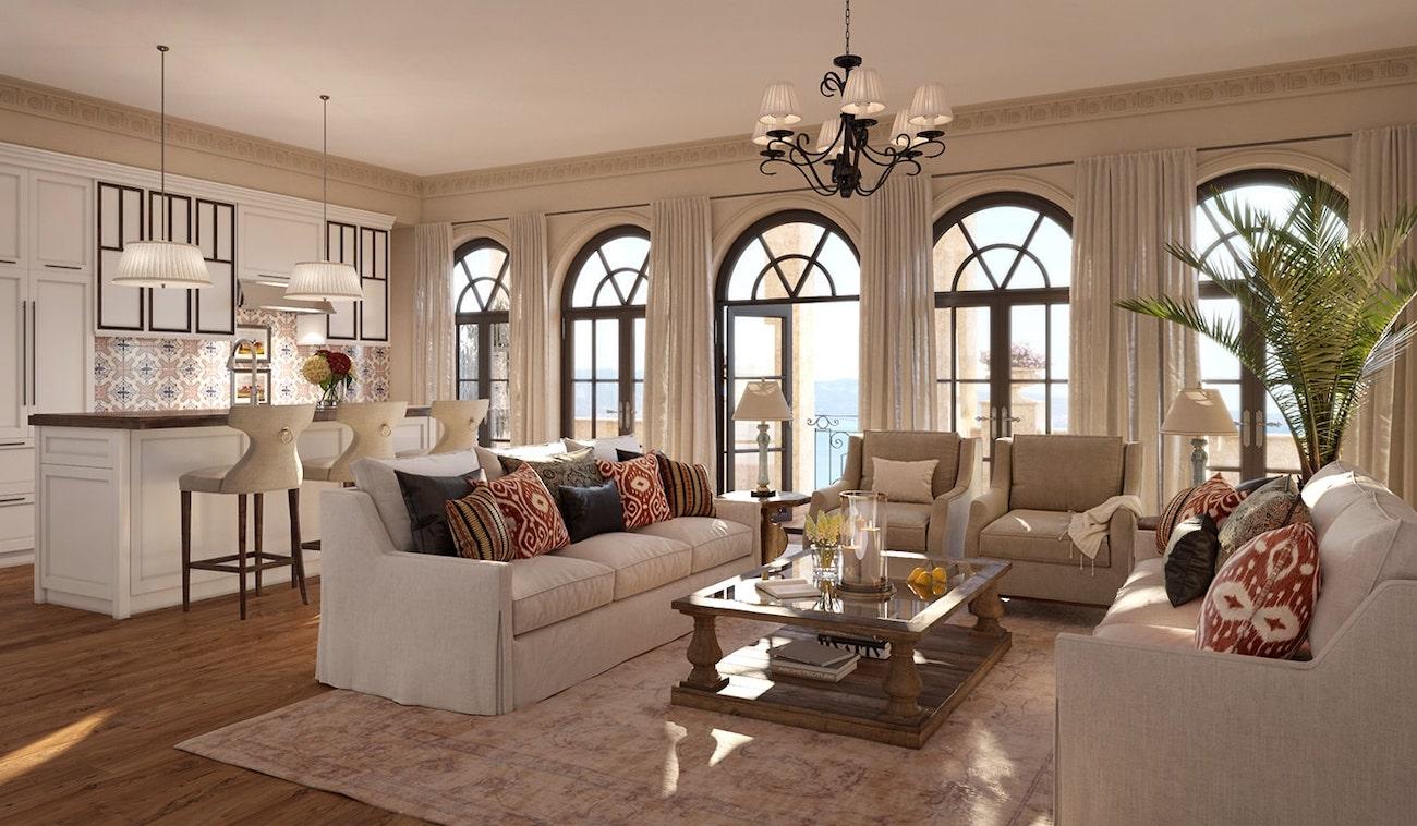 Продается квартира в Черногории 97 м2 в элитном коттеджном поселке